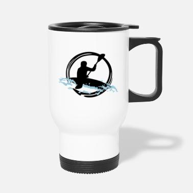 Whitewater Whitewater Kayaking - Travel Mug