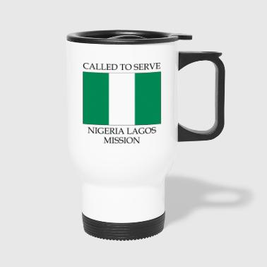 Nigeria Lagos LDS Mission Called to Serve Flag - Travel Mug
