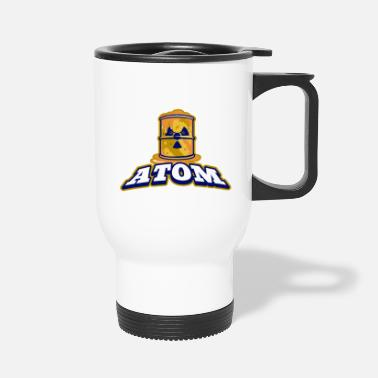 Atomic Energy atom - Travel Mug