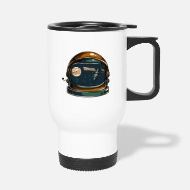 Space Helmet The Space Helmet - Travel Mug