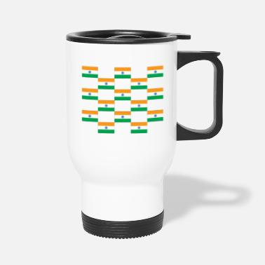 Flag India Flag Flag - Travel Mug