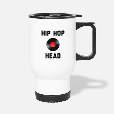 Rapper Hip Hop Head - Gift for Hip Hop Lovers - Travel Mug