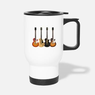 Electric Four Electric Guitars - Travel Mug