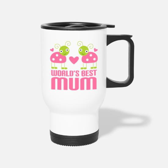 Mother's Day Mugs & Drinkware - Mum Gift For Mothers Day - Travel Mug white