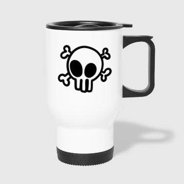 Pirate Skull Skull Pirate - Travel Mug