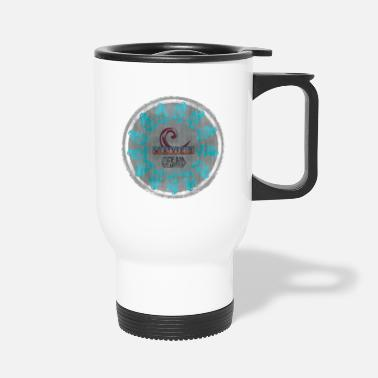 ocean waves - Travel Mug