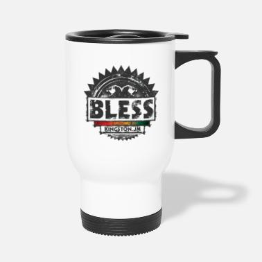 Dubstep bless reggae - Travel Mug