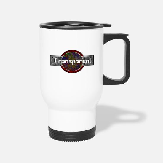Transparent Mugs & Drinkware - Transparent - Travel Mug white