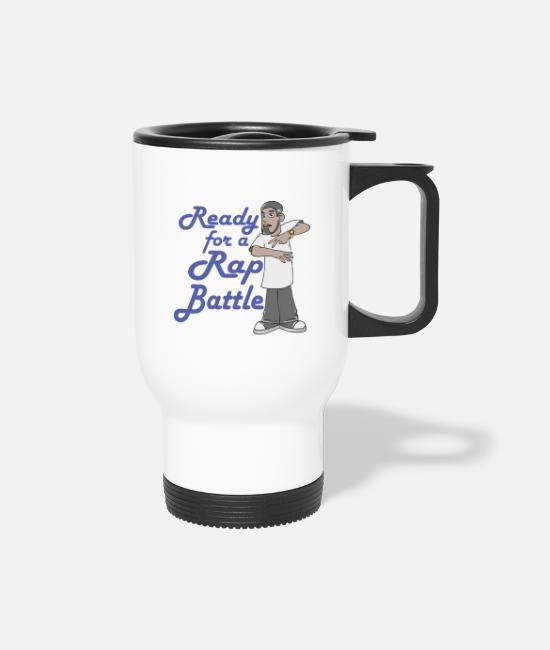 Rap Mugs & Drinkware - Rap Music - Travel Mug white