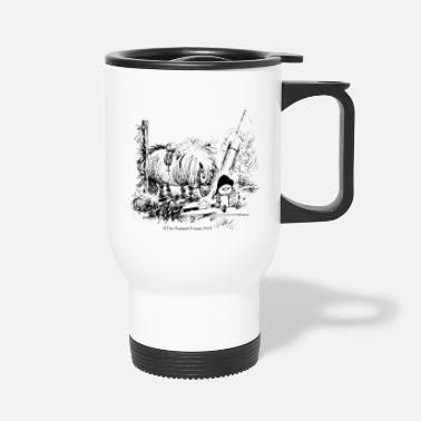 Norman Thelwell PonyFail Thelwell Cartoon - Travel Mug