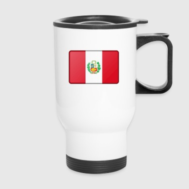 Peru Flag - Travel Mug