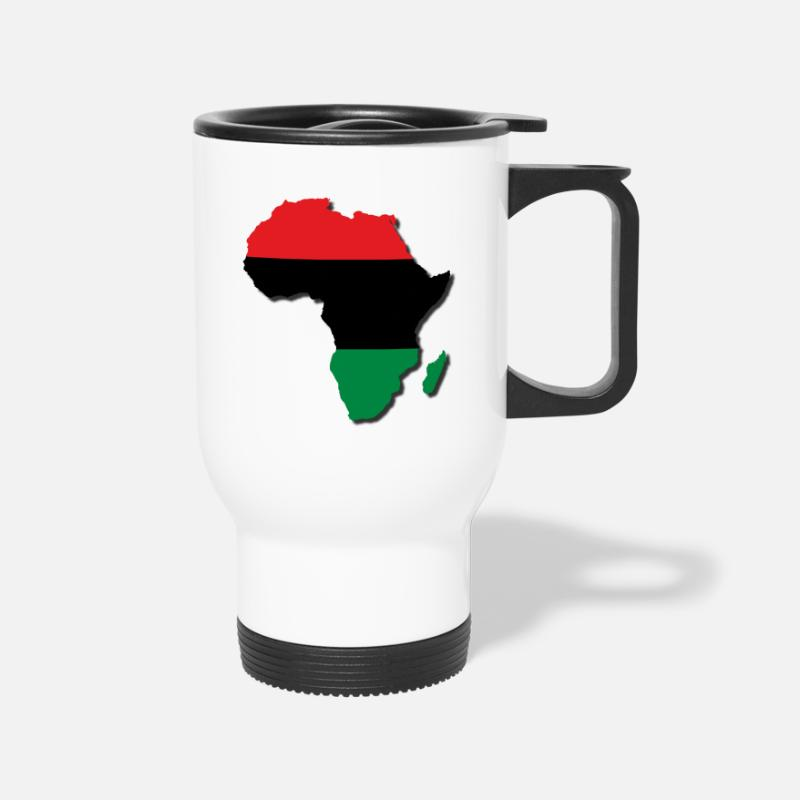 Egypt Mugs & Drinkware - RBG Africa LocStar Revol - Travel Mug white