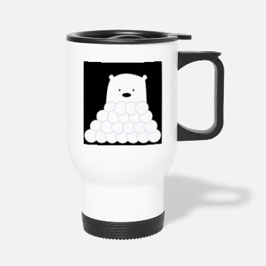 Ice Bear ice bear - Travel Mug