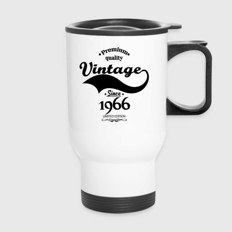 Premium Quality Vintage Since 1966 Limited Edition - Travel Mug