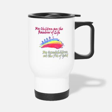 Pot Of Gold Grandkids are the Pot of Gold - Travel Mug