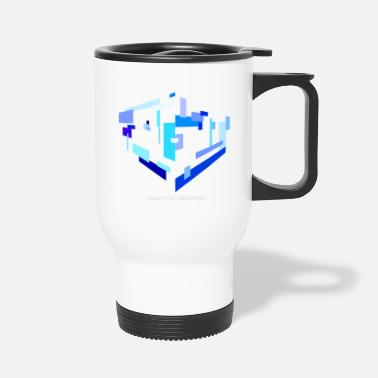 Rectangle Isolated Rectangles - Travel Mug