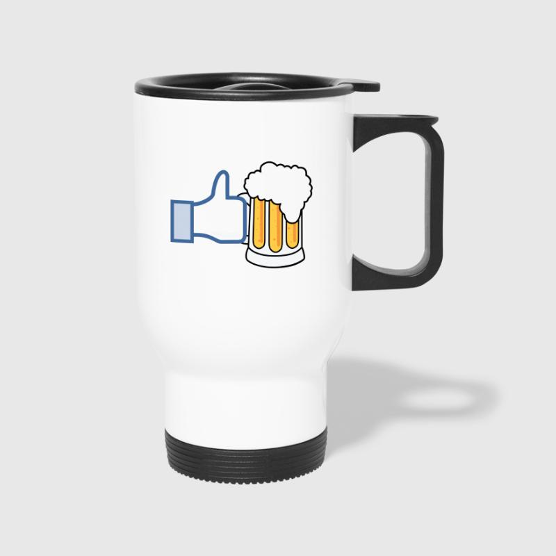 Like Beer - Add Your Own Text - Color - Travel Mug