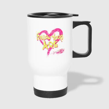 Howard High School Art Club - Travel Mug