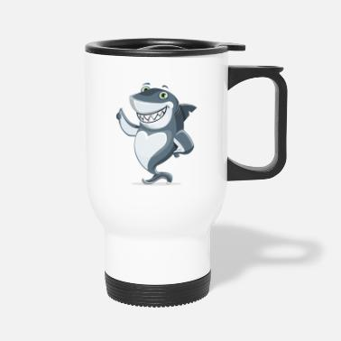 Amusing amusing shark - Travel Mug