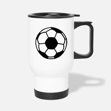 Soccer Ball Soccer Ball - Travel Mug