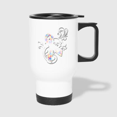 autism awareness59 - Travel Mug