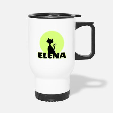 Name Day Elena Name day first name personal gift moonlight - Travel Mug