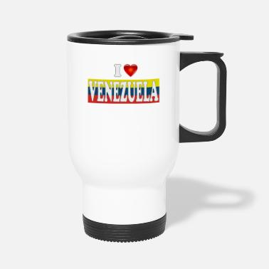 I love Venezuela - Travel Mug