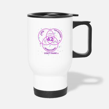 42 The Answer to Life merch - Travel Mug
