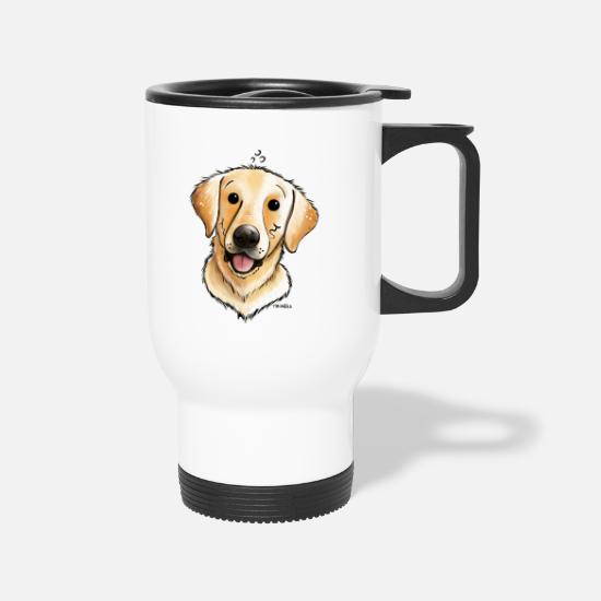Labrador Mugs & Drinkware - Funny Labrador - Dog - Dogs - Comic - Gift - Travel Mug white