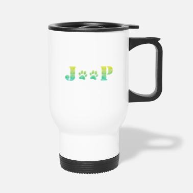 Paw Jeep Paw Prints - Travel Mug