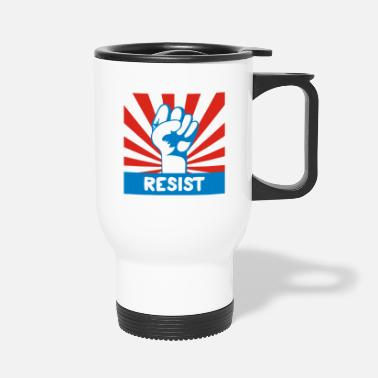 RESIST FIST - Travel Mug