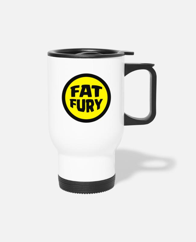 Father And Son Mugs & Cups - Fat Fury Herbie - Travel Mug white