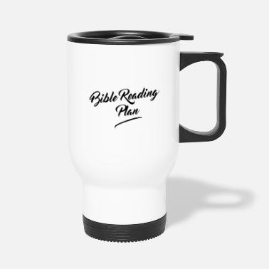 God Bible Reading Plan - Travel Mug