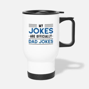 Dad Jokes Dad Jokes - Travel Mug
