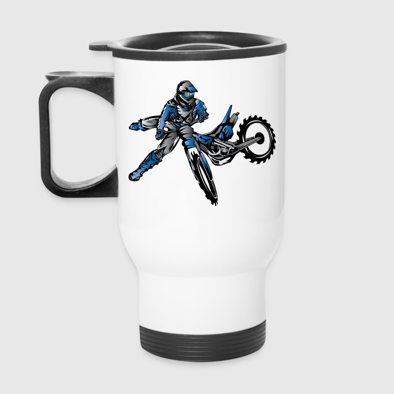 Yamaha Freestyle Dirt Bike Kids' Shirts - Travel Mug