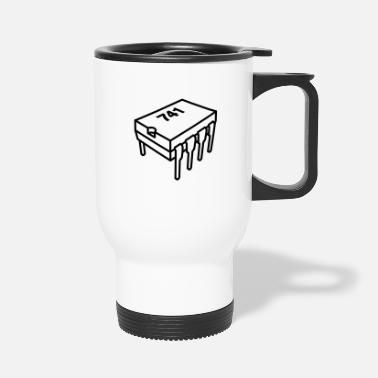555 Timer 741 Vector - Travel Mug