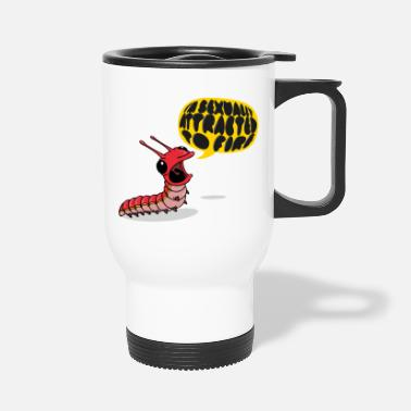 Screamapillar - Sexually Attracted to Fire - Travel Mug