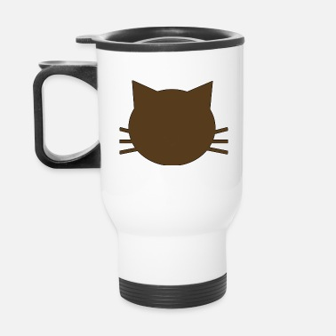 Brown Kitty - Travel Mug