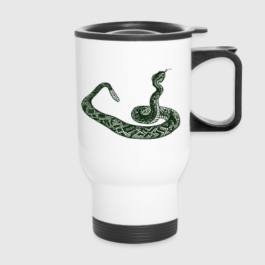 rattle snake - Travel Mug
