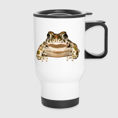 frog frosch kroete toad animal tiere - Travel Mug