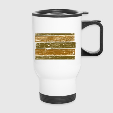 wood - Travel Mug