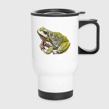 Comic Frog - Travel Mug