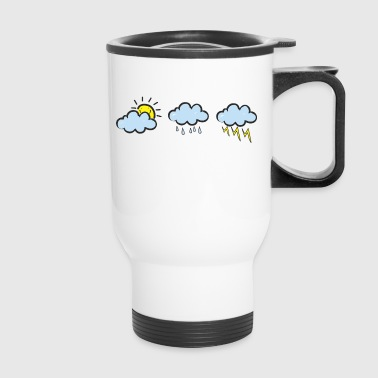 Different weather gift present idea - Travel Mug