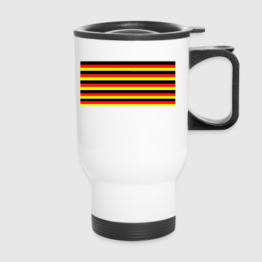 German flag stripes - Travel Mug