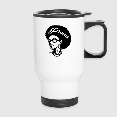 alvaro Proud Afro shirt - Travel Mug