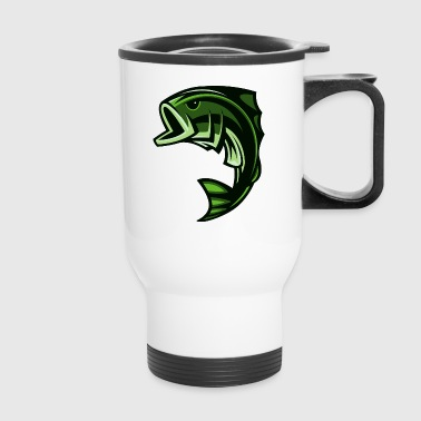 green_fish - Travel Mug