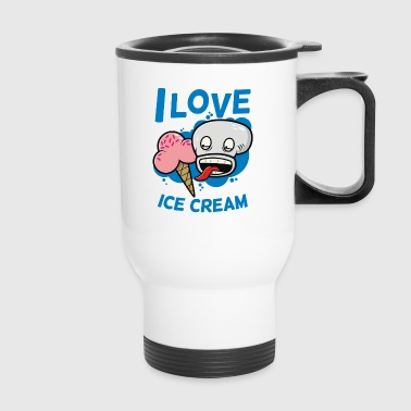 I Love Ice Cream - Travel Mug