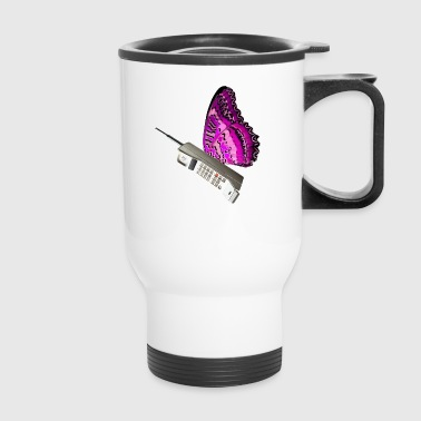 butterfly3 - Travel Mug