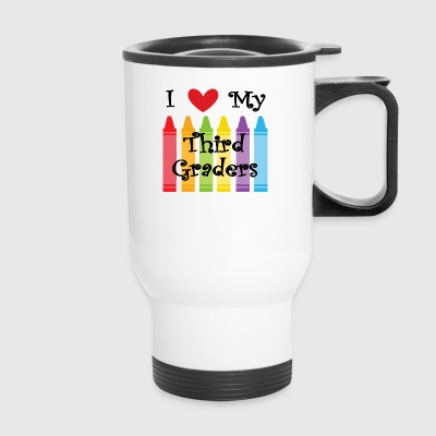 Third grade teacher - Travel Mug