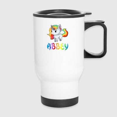 Abbey Unicorn - Travel Mug